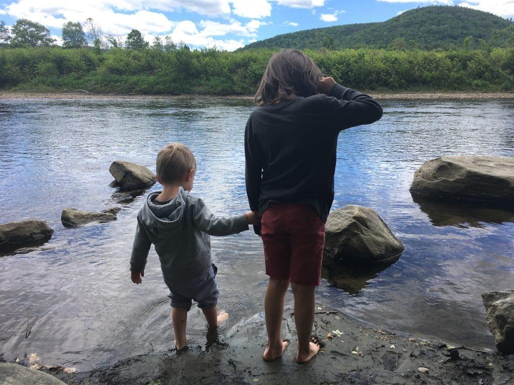 On Having Kids Four Years Apart