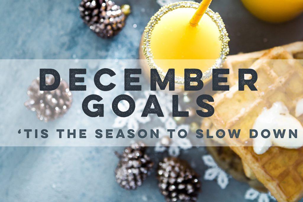 November Update & December Goals. - Our Little Apartment
